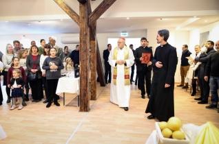 Erdő Péter bíboros megáldotta a budapesti Árpád-házi Szent Erzsébet-plébánia épületét