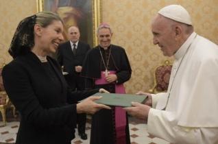 Ausztria új szentszéki nagykövetét fogadta Ferenc pápa