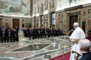 Ferenc pápa köszönetet mondott Libanonnak a menekültek befogadásáért