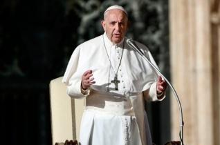 Ferenc pápa: Ne gondoljuk, hogy meg tudunk változni a Szentlélek segítsége nélkül!