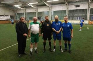 Püspökök is fociztak a nyíregyházi Adventi Kupán