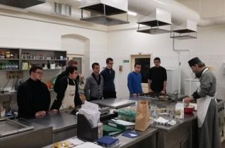 Görögkatolikus felolvasóavatás és proszforakészítés a budapesti központi szemináriumban