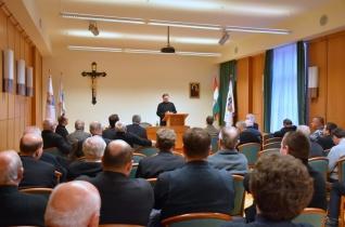 Adventi rekollekciót rendeztek a Győri Egyházmegye papsága számára
