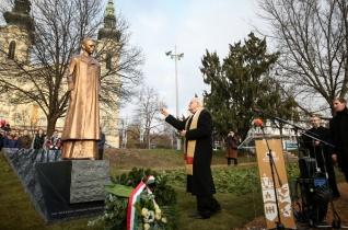 Buda szívében emeltek szobrot Boldog Brenner János vértanúnak