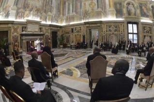 Új szentszéki nagyköveteket fogadott a pápa
