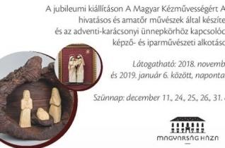 A Duna Palotában látható idén a betlehemijászol-kiállítás