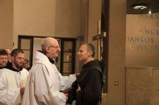 Ünnepel a ferences rend – Diakónusszentelés Esztergomban