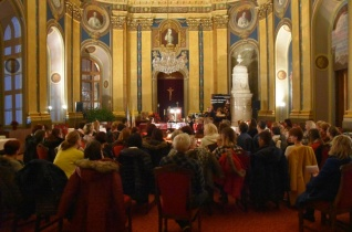 Tanárok karácsonyváró ünnepe a szatmári megyéspüspöknél