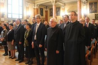 Veszprém megye díszpolgára lett Korzenszky Richárd OSB