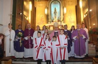 Apostoli nuncius látogatott a bukaresti magyar katolikusokhoz