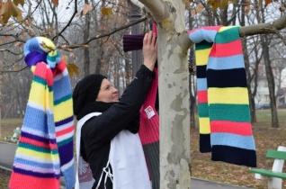Angol diákok végeztek önkéntes munkát a nagyváradi Caritas Catolicánál