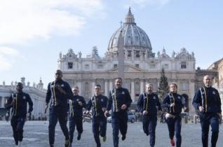 Megszerezte első érmét a vatikáni atlétikai csapat