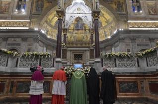 Ferenc pápa az ökumenikus imán: Súlyos bűn lekicsinyelni más keresztények ajándékait!