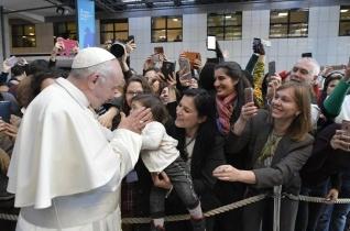 Az egyenlőtlenség szeretettel küzdhető le – A pápa köszönetet mondott az IFAD munkatársainak