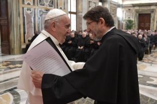 Az egyházatyák közelebb visznek Krisztushoz – A pápa látogatása a római patrisztikus intézetben
