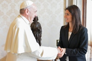 Ferenc pápa március végén a Capitoliumra, a római önkormányzat székhelyére  látogat