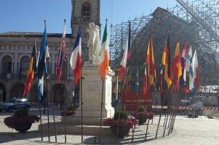 Lengyelországba zarándokol 2019-ben a békefáklya Szent Benedek szülővárosából
