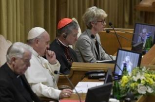 Ferenc pápa a püspöki tanácskozáson: Most magát az Egyházat hallottuk beszélni!