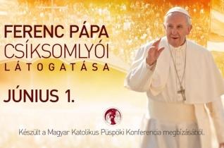 Imádkozzunk együtt a Szentatyával Csíksomlyón