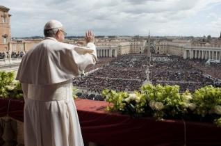 A Szentatya által vezetett nagyheti és húsvéti szertartások rendje