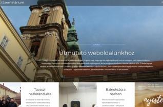 Megújult a Központi Szeminárium honlapja