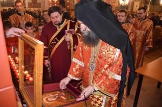 Kocsis Fülöp érsek-metropolita tartotta az előszenteltek liturgiáját Nyíracsádon