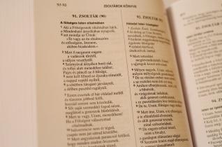 Idén folytatódik a Hangos Biblia felvétele