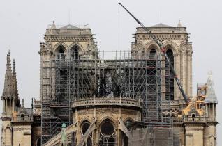 Újabb veszély leselkedik a Notre-Dame-ra: az eső