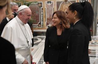 Alázattal az igazságról – Ferenc pápa Olaszországban dolgozó külföldi újságírókkal találkozott